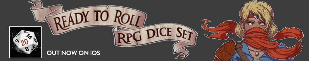 Ready to Roll RPG Dice Set Banner image
